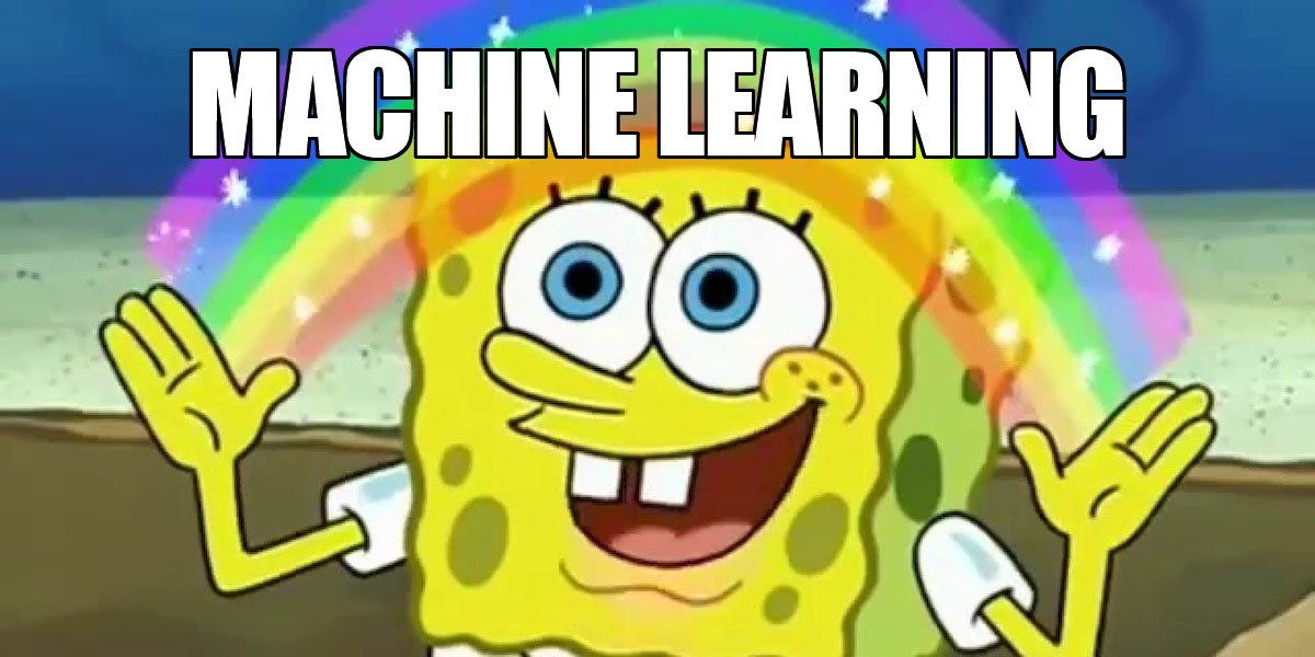 Machine Learning bob l'eponge