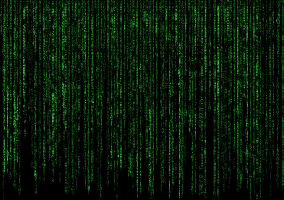 Image de matrice du film Matrix