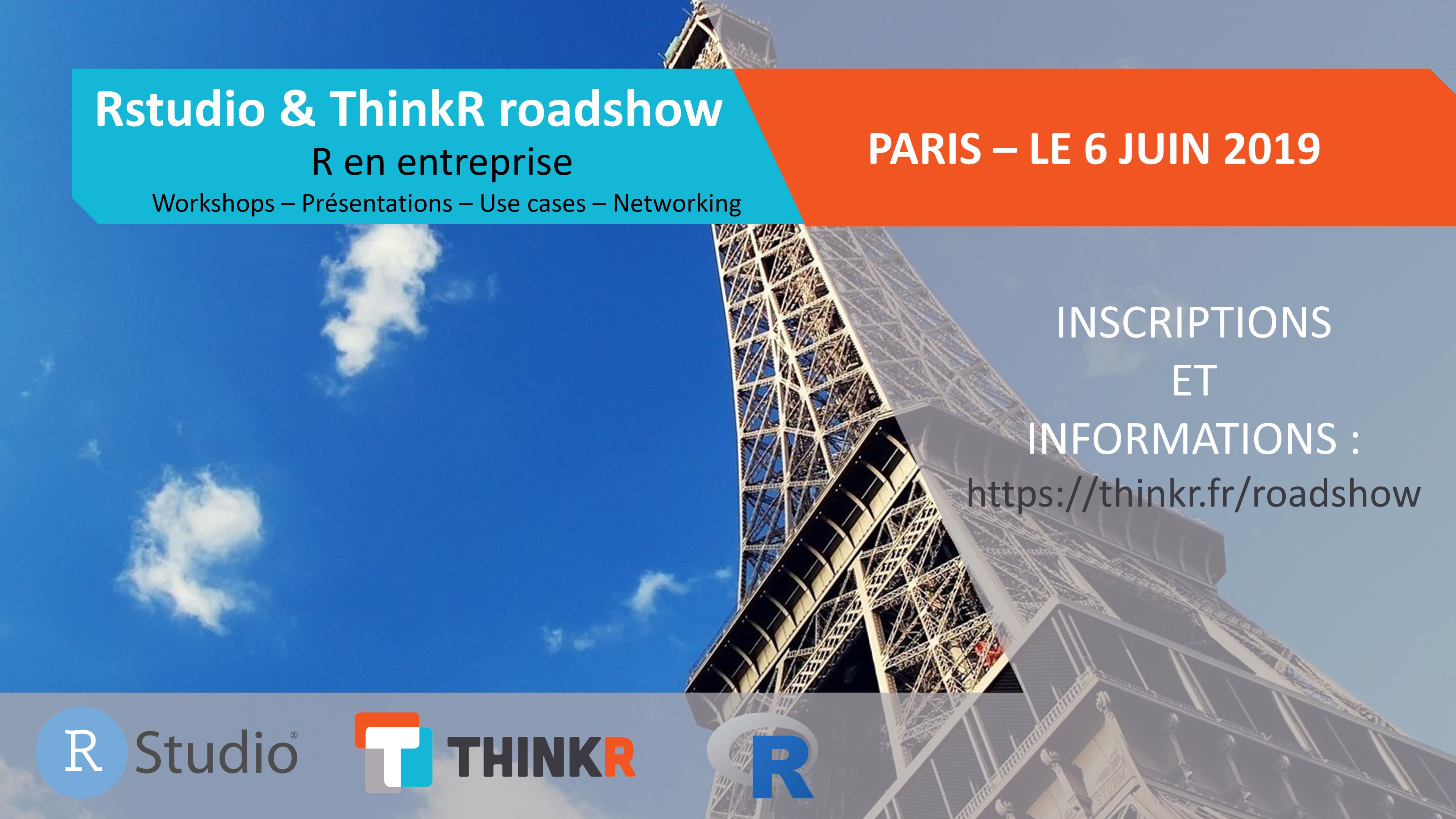 Rstudio & Thinkr roadshow