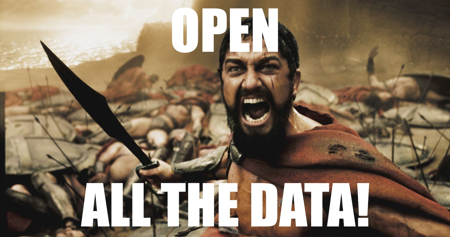 Open all the data!