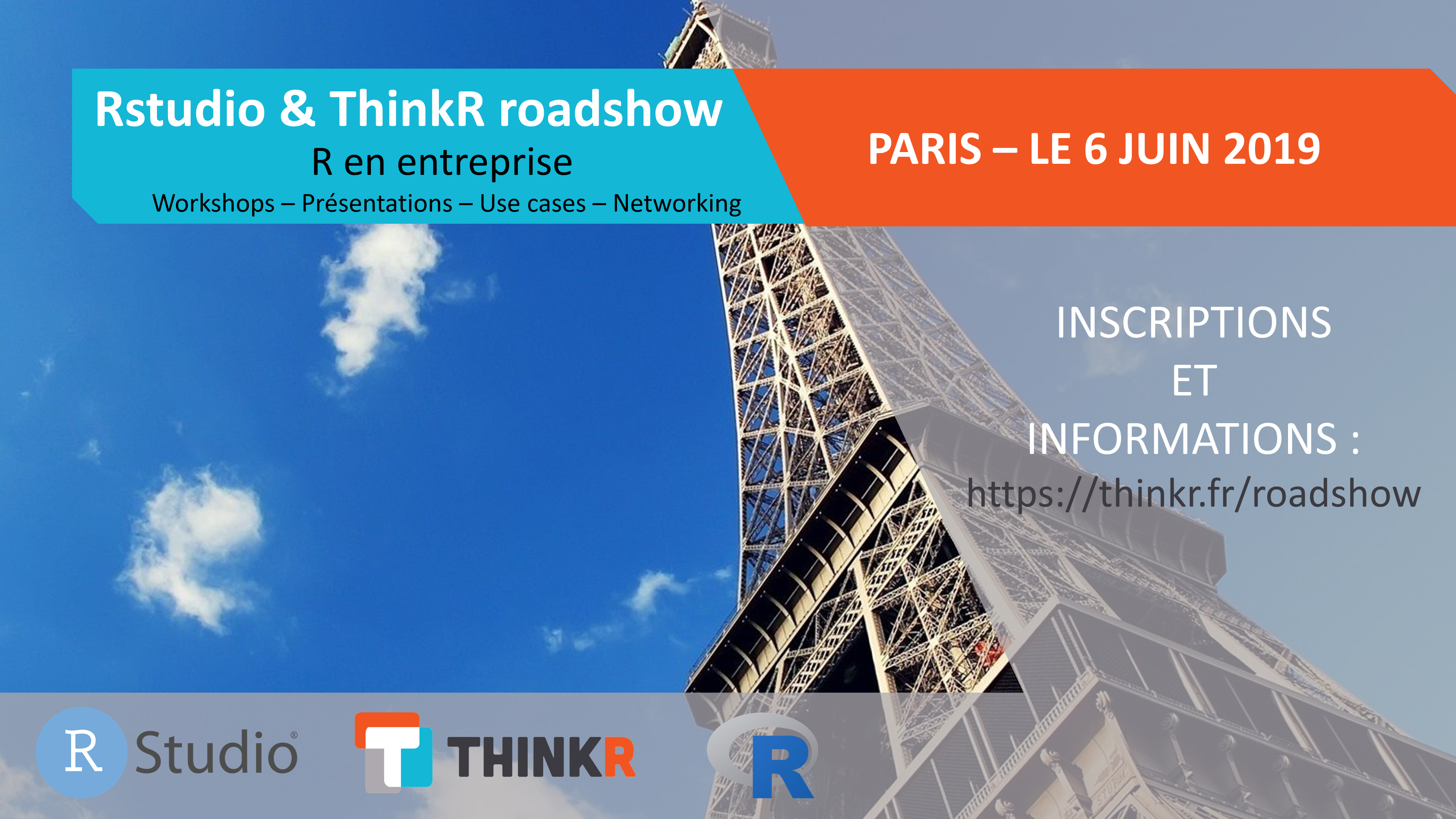 Rstudio roadshow Paris 6 juin 2019